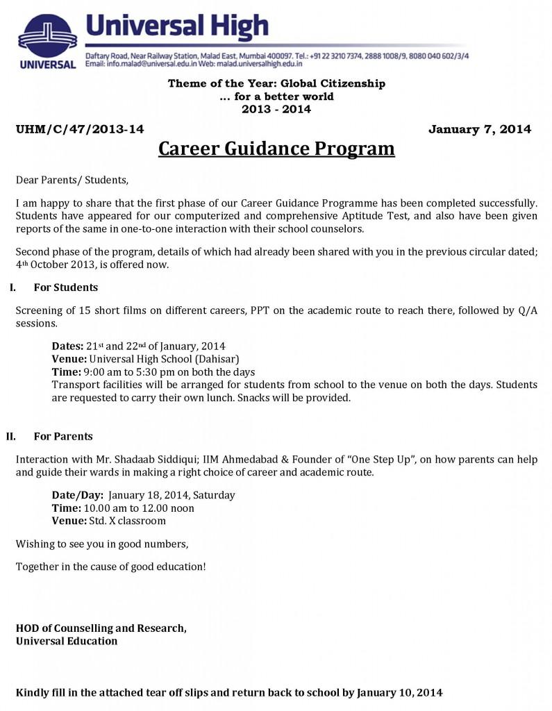 Career Guidance Program Mumbai