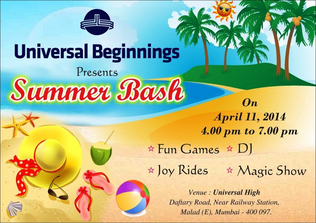 Summer Bash Invitation 02