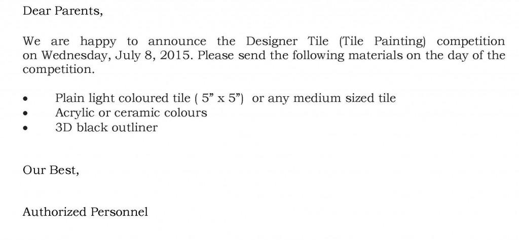 [06] Circular - Tile Painting - Grades VII & VIII