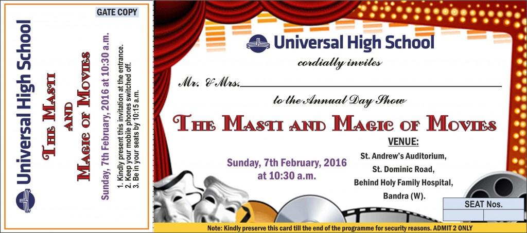 Annual Day invite